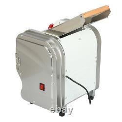 110V 370-550W Commercial Electric Pasta Press Maker Dumpling Skin Noodle Machine