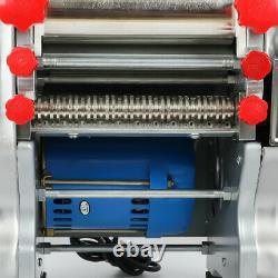 110V Commercial Electric Pasta Maker Dumpling Skin Press Noodle Machine 370-550W