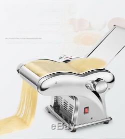 110V Electric Dumpling Dough Skin Noodles Pasta Maker Machine Automatic 135W