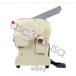 110V Stainless Steel Electric Pasta Press Maker Noodle Machine Home Durable