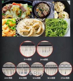 110/220V Electric Pasta Press Maker Noodle Machine Dumpling Skin Home Commercial