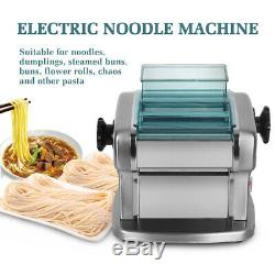135W Household Stainless Steel Electric Spaghetti Pasta Machine 2.5mm 4mm 220V