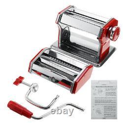 150mm Stainless Steel Pasta Maker Machine Noodle Food Spaghetti 9T Adjustable