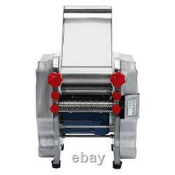 220V Commercial Dumpling Skin Pasta Maker Noodle Machine Electric Dough Roller