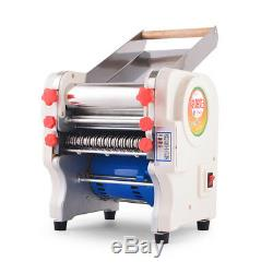 220V Commercial Electric Noodle Maker Pasta Roller Machine with a 3mm/9mm Cutter