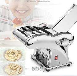 220V Electric Pasta Maker Dumpling Dough Skin Noodles Machine with 4 Knives