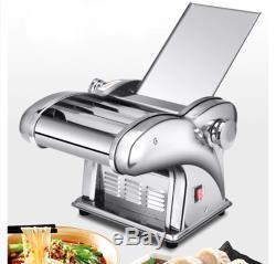 220V Electric Pasta Maker Noodle Machine Dumpling Skin Maker for Home Restaurant