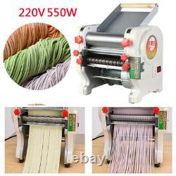 220V Electric Pasta Press Maker Noodle Machine Dumpling Skin Home Commercial UK
