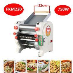 220V Home Commercial FKM220 Pasta Press Maker Noodle Machine Dumpling Skin 750W
