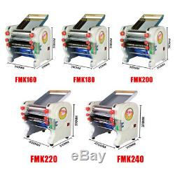 220V Home Commercial Stainless Steel Electric Pasta Press Maker Noodle Machine