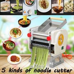 220V Stainless Steel Electric Pasta Press Maker Noodle Machine Commercial Home