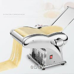 220V Stainless Steel Pasta Maker Roller Machine Noodle Machine 4 Knives Type