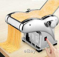 230V Pasta Spaghetti Dough Maker Electric Noodle Press Machine with 2 Cutter