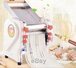240mm Width Commercial Electric Pasta Maker Noodles Roller Machine Home FKM240