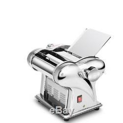 2 Blades Electric Pasta Maker Dumpling Dough Skin Noodle Machine Stainless Steel