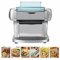 3-Blade Electric Noodle Maker Household Full-Auto Pasta Dough Machine US 110V
