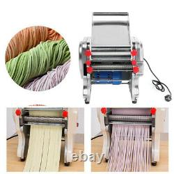 750W Commercial Home Stainless Steel Electric Pasta Press Maker Noodle Machine