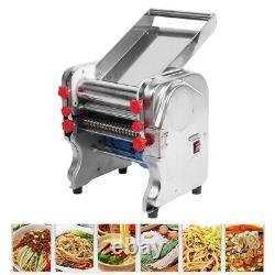 750W Electric Noodles Pasta Maker Spaghetti Machine Dumpling Dough Skin Roller