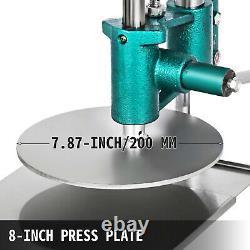 7.8'' Pasta Maker Household Pizza Dough Pastry Manual Press Machine Bigger