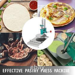 7.8inch Manual Pastry Press Machine Pasta Maker Pizza Crust Dough Chapati Sheet