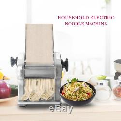 Automatic Electric Noodle Maker Pasta Roller Machine Spaghetti Maker Household