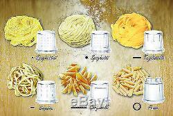 C3 Pasta Basta Automatic Pasta Machine Black + 6 Shapes Genuine New Best Gift