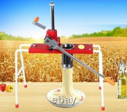 CE stainless steel manual noodle pasta maker noodle press machine pasta cutter
