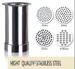 CE stainless steel manual noodle pasta maker noodle press machine pasta cutter t