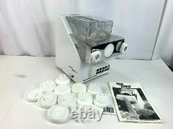 CTC Pasta Express X3000 Electric Pasta Machine Mixer Maker with pasta cutters