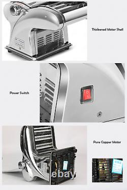 Commercial Electric Mini Dough Roller Sheeter Noodle Pasta Pancake Maker Machine