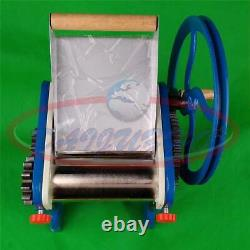 Commercial Manual hand Noodle machine Pasta Dumpling Skin Maker Machine New