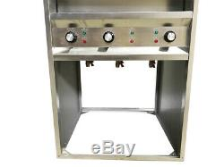Commercial Pasta Noodles Cooker Electric Machine 6 Holes 110V with Water Faucet US