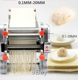Electric Automatic Noodle Machine Pasta Press Maker Dumpling Skin dough Machine