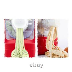 Electric Fresh Pasta Press Noodle Maker Roller Machine for Spaghetti Fettuccine