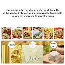 Electric Noodle Machine Pasta Press Maker Dumpling Skin Maker Home/Commercial