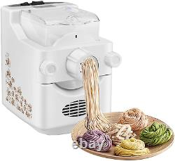 Electric Pasta Machine, Automatic Pasta Maker with 9 Noodle Molds and 3 Dumpling