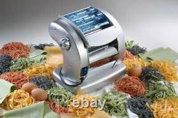 Electric Pasta Maker- Imperia Pasta Presto Non-stick Machine w 2 Cutters and 6