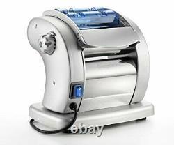 Electric Pasta Maker- Imperia Pasta Presto Non-stick Machine w 2 Cutters and 6 T