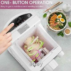 Electric Pasta Maker Machine, Automatic Noodle Making Machine with 9 Noodle