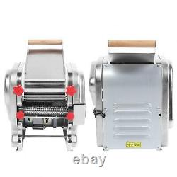 Electric Pasta Maker Stainless Steel Noodles Roller Machine 220V Home Use