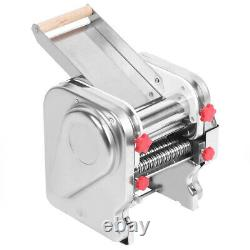 Electric Pasta Maker Stainless Steel Noodles Roller Machine For Home Restau JY