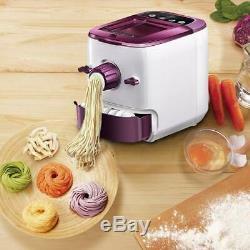 Electric Pasta Noodle Machine Automatic Dough Cutter Dumpling Skin Maker