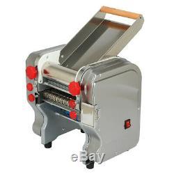 Electric Pasta Press Machine Noodle Dumpling Skin Maker 370-550W Stainless Steel