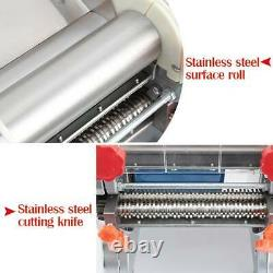 Electric Pasta Press Maker Dumpling wonton Skin Noodle Machine 370-550W 110V