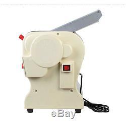 Electric Pasta Press Maker Noodle Machine Dumpling Home110V Flat Blade 3mm&9mm