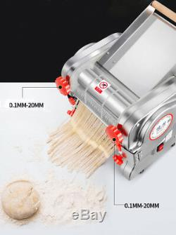 Electric Pasta Press Maker Noodle Machine Dumpling Skin Home Commercial 110V