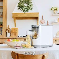 Electric Pasta and Noodle Maker Automatic Pasta Machine, Compact Size Makes