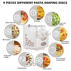 Electric Pasta and Ramen Noodle Maker Machine with 9 Multi-Functional Shapes, 1