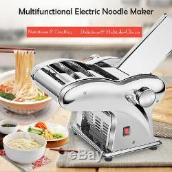 Electric noodle maker stainless, dough sheeter dough roller pasta maker machine