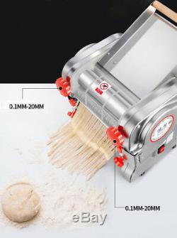 Home/Commercial Electric Noodle Machine Pasta Press Maker Dumpling Skin Maker